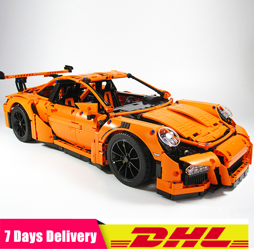 2019 IN Stock <font><b>Technic</b></font> Series Compatible with <font><b>Legoinglys</b></font> Race Car Bricks <font><b>42056</b></font> 20001 Model Building Blocks Toy Christmas Gifts image