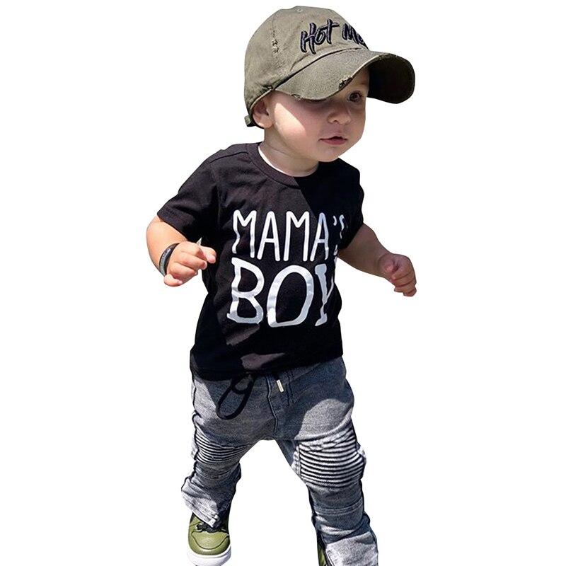 Menino cavalheiro crianças vestir roupas da criança meninos outono outfit rei impressão superior camuflagem shorts duas peças conjunto 2019 criança d30