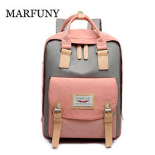 Fashion Patchwork Women Backpack Waterproof Oxford Travel Backpacks Teenagers Girls High Quality Bagpack Female Mochila Mujer