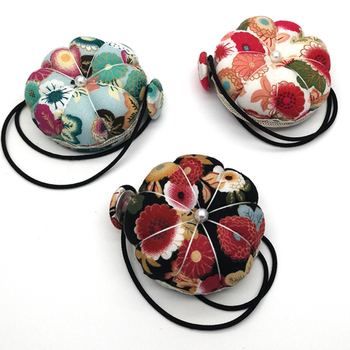 Mini cojín redondo Para máquina de coser, Alfileres de bolas Para Costura,...