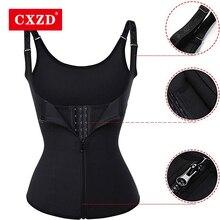 CXZD размера плюс S-4XL Корректирующее белье жилет для похудения корректирующий корсет для похудения