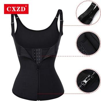 CXZD Plus Size S-4XL Body Shapers Vest Waist Corset