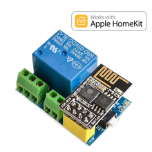Homekit 5v wifi interruptor de relé módulo esp01s casa inteligente gadgets
