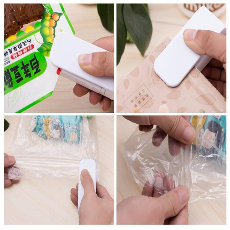 HOMETREE Mini Handheld Holder Electric Heating Snack Sealing Machine Machine Sealed Packaging Plastic Bag Sealed Food Bag H274