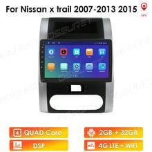 Auto Radio 4G LTE 2 + 32GB Android 10 Für Nissan X Trail 2 T31 XTrail 2007 2015 auto Radio Multimedia Video Player