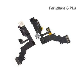 Image 3 - 10 sztuk dla iPhone 5 5g 5c 5s 6 6G 6s plus światła czujnik zbliżeniowy Flex Cable z przodu kamery mikrofon montaż