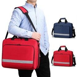 Sac vide premiers secours Portable épaule sac médical Kit de survie d'urgence en plein air multifonction grande capacité
