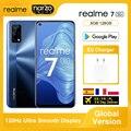 Глобальная версия Realme 7 5G смартфон 6 ГБ 128 Dimensity 800U 6,5 Дюймов 120 Гц Дисплей 48MP Quad камеры 5000 мА/ч, 30W Дротика заряда