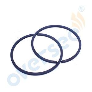 3B2-00011-0 поршневое кольцо 50 мм STD для Tohatsu Nissan 9.8HP Запчасти для подвесного мотора 2-тактный Карбюратор Тип