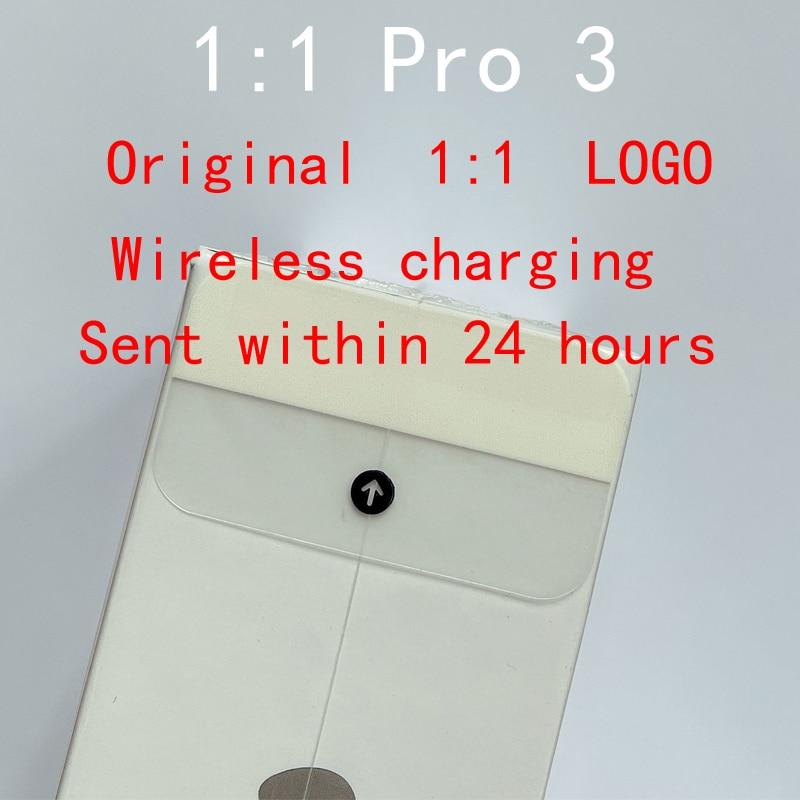 Беспроводная Bluetooth-гарнитура TWS Pro 2 3, Спортивная гарнитура, Беспроводная зарядка, оригинал, высокое качество