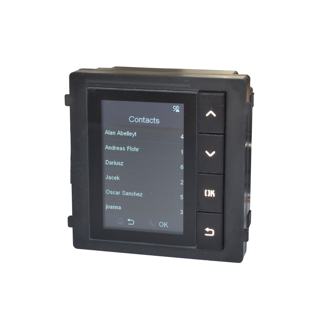 DS-KD-DIS Display Module For DS-KD8003-IME1, IP Doorbell Parts,video Intercom Parts,Access Control Parts,doorbell Parts