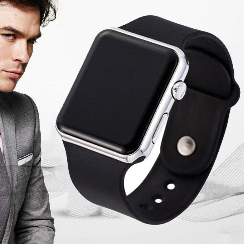 2020 Sport Casual Watches Men Women Led Silicone Watch Lovely Digital Sports Wristwatch Children Clock Bayan Kol Saati 1