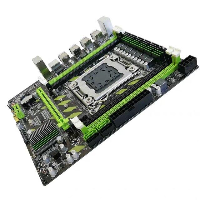 لوحة أم Kllisre X79 X79H LGA 2011 USB3.0 SATA3 تدعم ذاكرة REG ECC ومعالج Xeon E5 4XDDR3