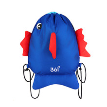 361 Kids Swimming Bags Boys Girls Waterproof Backpack Cute Fish Dry Wet Compartments Camping Pool Beach Outdoor