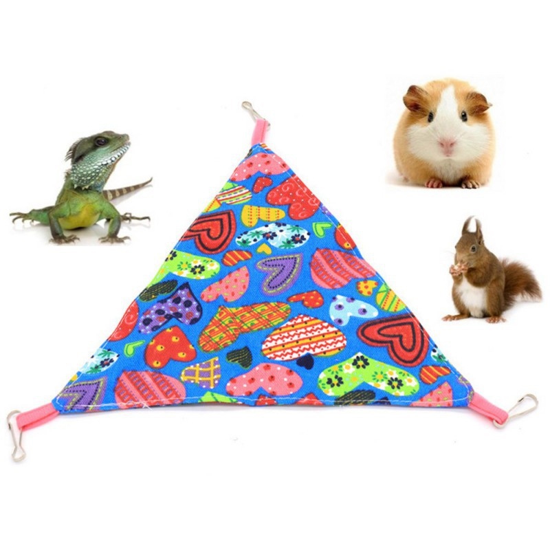 Hammock Hamster Hanging Mat Guinea Pig Chinchilla Rabbit Cage For Hamsters Pet Sleeping Hammock Swing Bed Seat Accessories