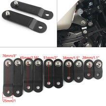 Для Harley Sportster Dyna Iron XL 883 1200 48 72 универсальные аксессуары для мотоциклов поднятие держатель баллона модифицированные стояки w/болт