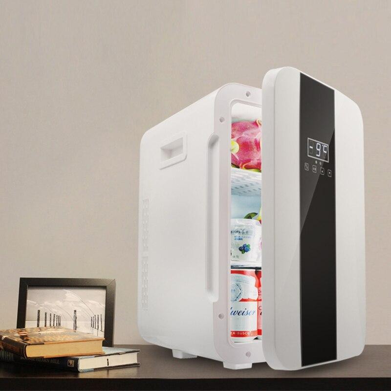 Портативный 22л мини холодильник двухъядерный 12 В/220 В автомобильный домашний морозильник мини холодильник Frigo Nevera холодильник Frigobar