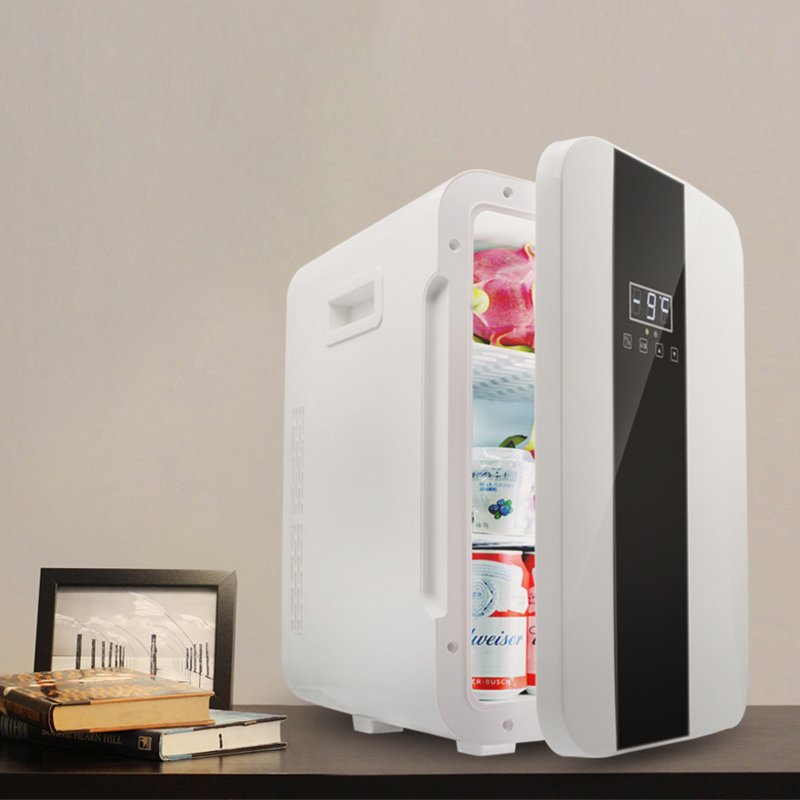 22L Small Refrigerator Household Double Refrigeration Refrigerator Single Door Digital Display Refrigerator