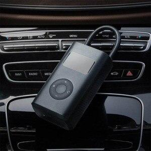 Image 4 - Original Xiaomi Mijia Portable Smart Digital Tire Pressure Detection Electric Inflator Pump for Bike Motorcycle Car Football