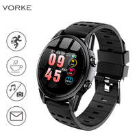 Vorke VK8 Smart Uhr Bluetooth 1,22 zoll Touch Screen Aktivität Fitness Tracker Smart Band für Alle Smartphones PK V11