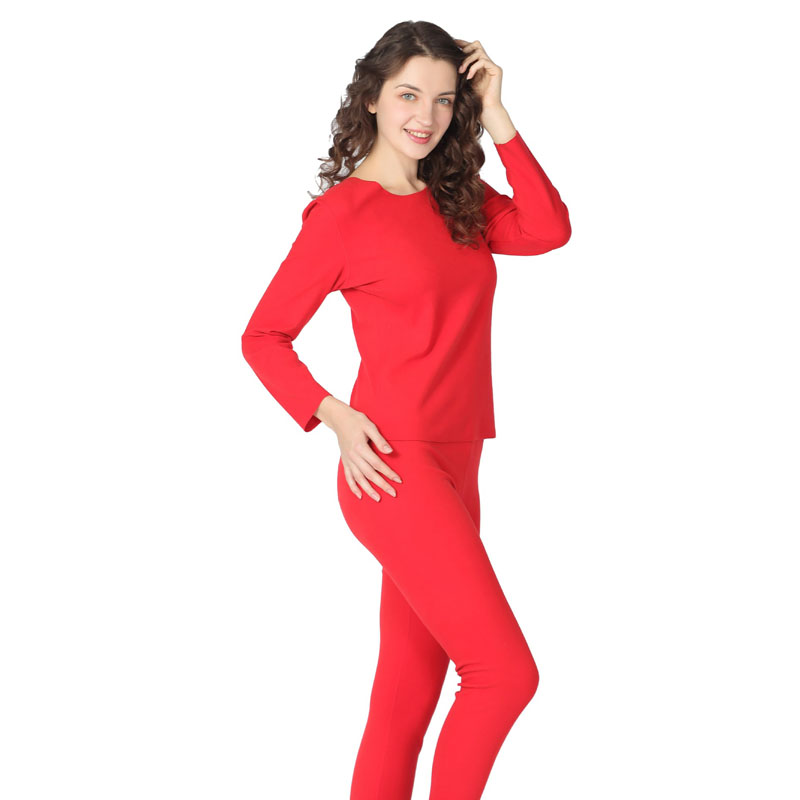 Winter Long Sleeve Women Thermal Long Johns Candy Color Long Johns Woman Warm O-neck Elastic Thermal Underwear Plus Size S-8XL