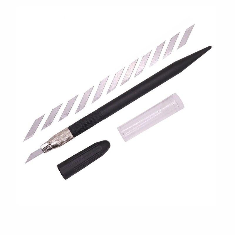 9SEA Brand 12 Blades Wood Carving Tools Fruit Food Craft Sculpture Engraving Knife Scalpel DIY Cutting Tool PCB Repair