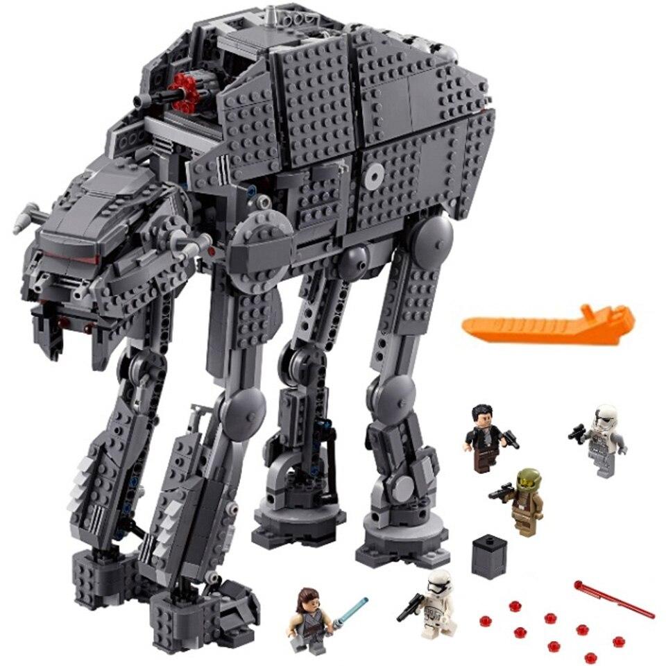 05130 Compatible lepining 75189 75251 Star Wars assaut lourd Walker modèle blocs de construction cadeau jouets pour enfants cadeau