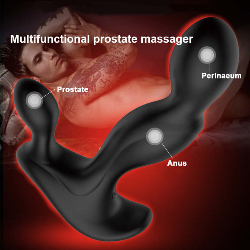 Prostate Massager <font><b>Anal</b></font> Plug Vibrator Butt Plug <font><b>Gay</b></font> <font><b>Sex</b></font> Toys G Spot Massager <font><b>Anal</b></font> <font><b>Strapon</b></font> <font><b>Dildo</b></font> Vibrator Adults <font><b>Sex</b></font> Toys for Men image