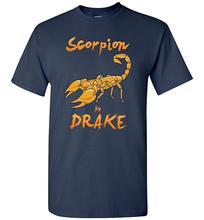 Scorpion Drake Tshirt  Summer Cotton T-Shirt Fashion drake drake scorpion 2 lp