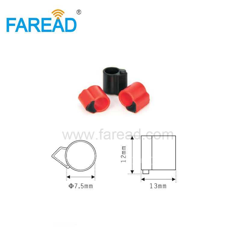X100pcs TK4100 Chip Electronic 125Khz RFID Tag Bird Pigeon Animal Foot Ring For Chicken, Duck,Tracking