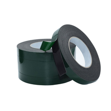 10m Double Sided Tape Strong Adhesive Black Foam Tape for Cell Phone Repair Gasket Screen PCB Dust Proof (1mm Thick)