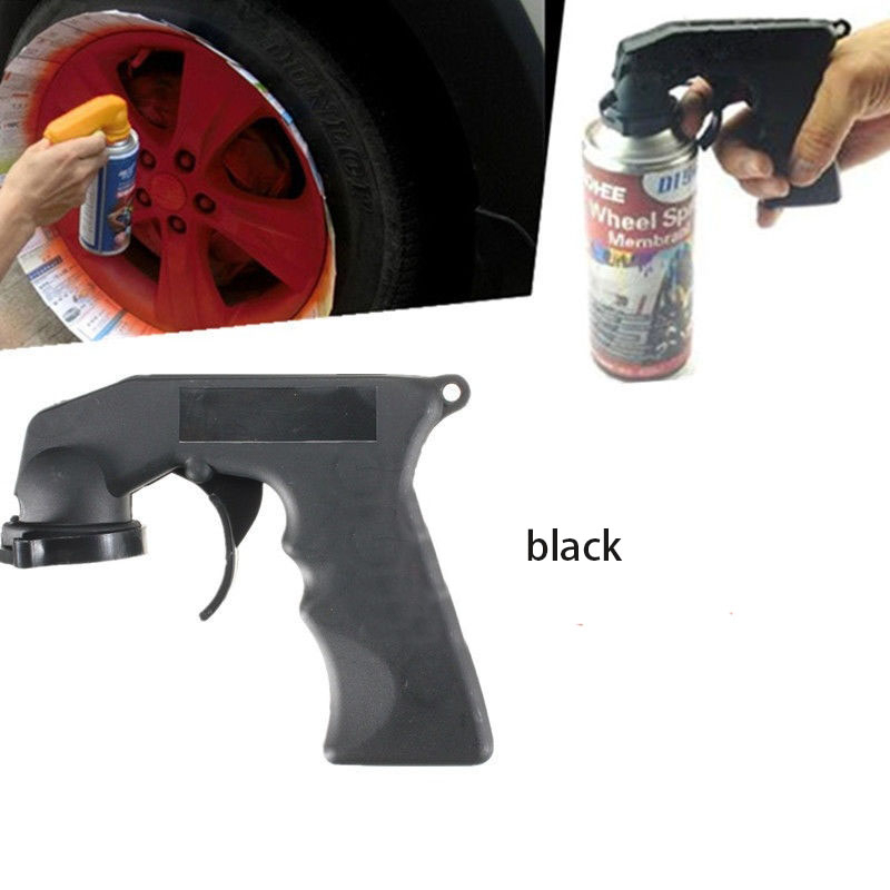 Car Universal Sprayer Self-painting Spray Can Spray Gun Adapter With Full Grip Trigger Lock Collar Car Aerosol Accessories