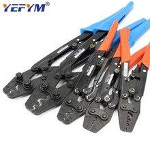 Ferramentas de friso alicates para terminais não isolados estilo japonês capacidade de bloqueio automático 0.5mm2-38mm2 ferramentas manuais elétricas
