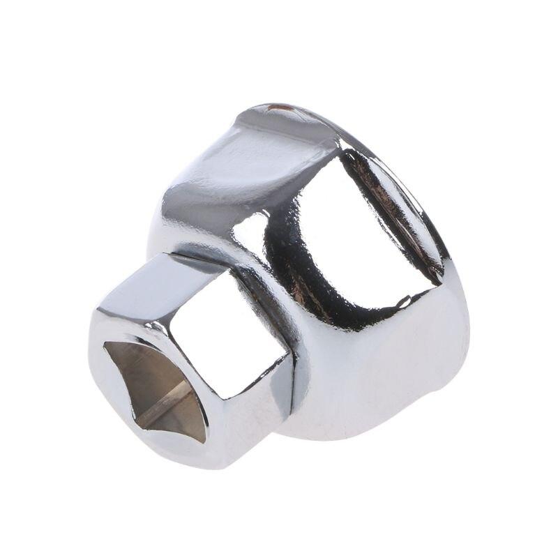 Tampa da chave do filtro de óleo do carro habitação motor remoção ferramenta 6 flautas 27mm 32mm 36mm 1/2