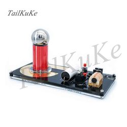 Mini Künstliche Blitz Generator, Mini Tesla Spule, Hohe Umwandlung Effizienz, Wissenschaftliche Experiment Ätherisches
