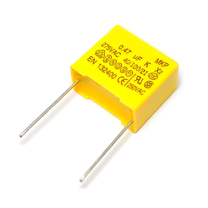 5PCS/LOT 275VAC Capacitor X2 Series X2 275V 0.47uF 470nF 474K 22mm Polypropylene Film Capacitor