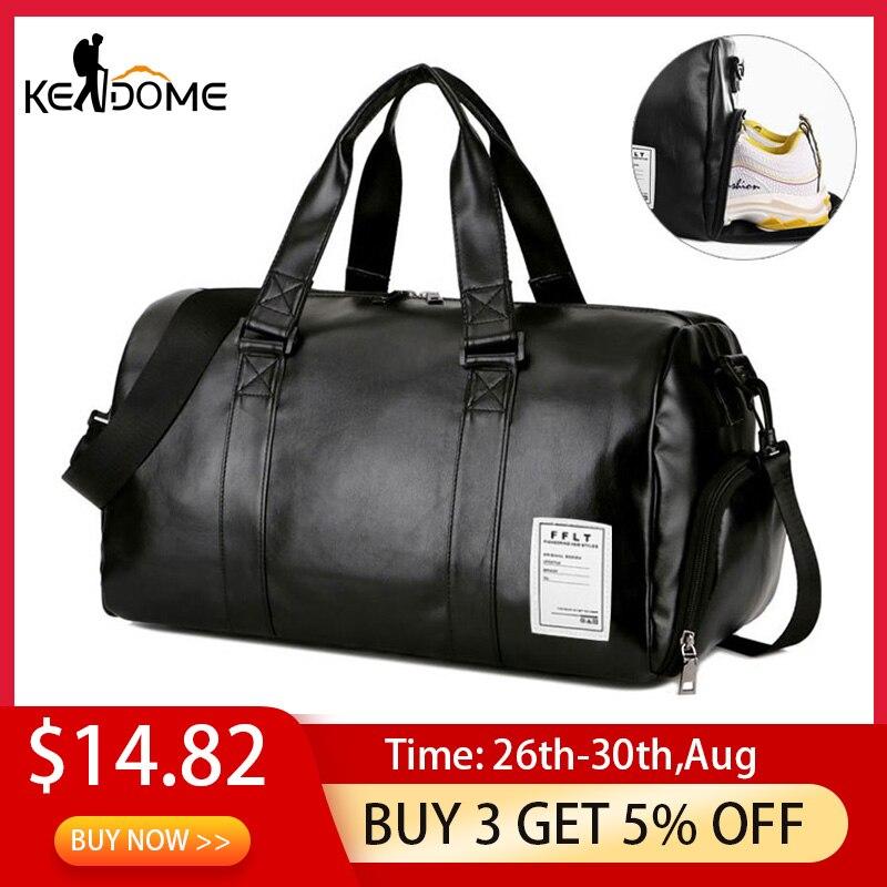 Gym-Bag Shoes Luggage-Shoulder Sports-Bags Travel Sac-De-Sport-Xa512wd Fitness Yoga Black