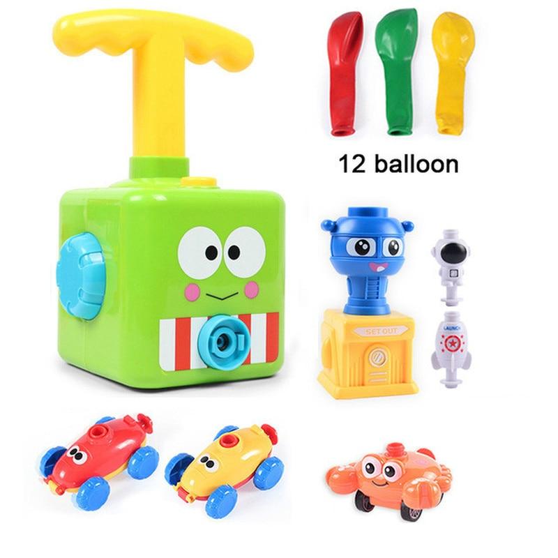 Twee-in-een krachtballon auto speelgoed traagheid kracht ballon - Auto's en voertuigen - Foto 6