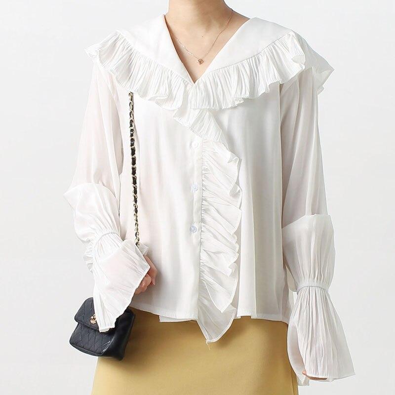 Koly/_Le Donne del Merletto di Estate Sleeveless Casuale carro Camicetta Tops T-Shirt