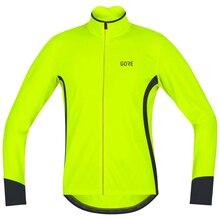 Осень полиэстер GORE Велоспорт с длинным рукавом Джерси Мужская велосипедная рубашка Спортивная Джерси езда на велосипеде Майо не водонепроницаемый