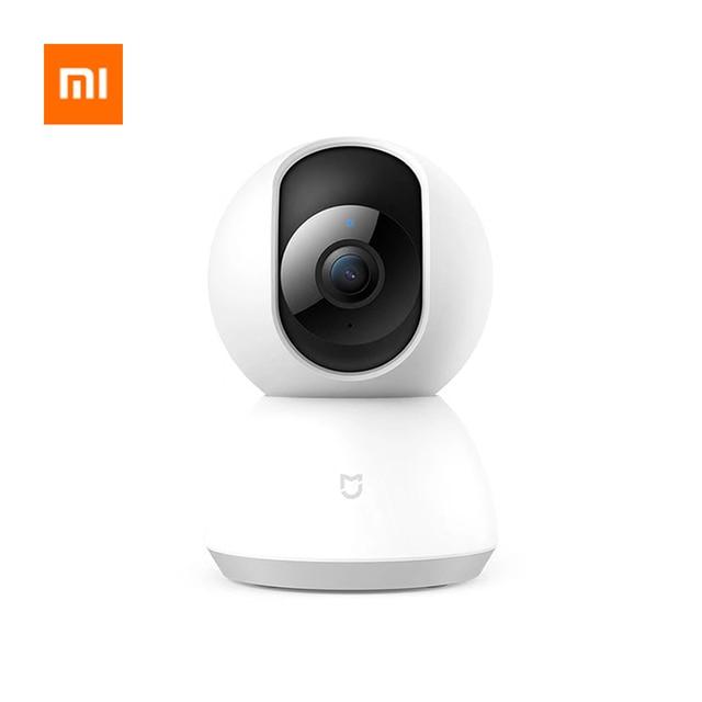 Xiao mi mi jia Caméra IP Intelligente 360 Degré 1080P YUNTAI Version Améliorée connexion Wifi Sécurité intelligente Pour mi Application Home