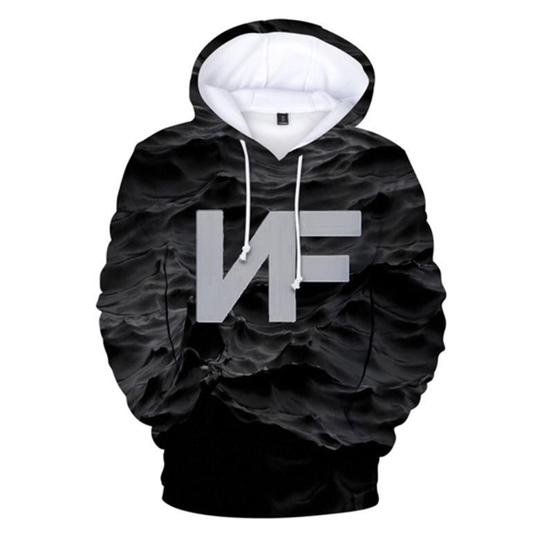 NF 3D Men Long Sleeve Sweetshirt Hoodie  2