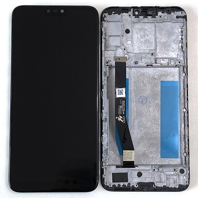 Оригинальный ЖК-дисплей 6,26 дюйма M & Sen для Asus Zenfone Max Plus M2 Max Shot ZB634KL с рамкой и дигитайзером сенсорной панели