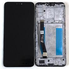 "6.26 ""Orignal M & Sen per Asus Zenfone Max Plus M2 Max Shot ZB634KL Display LCD con cornice Touch Panel Digitizer"