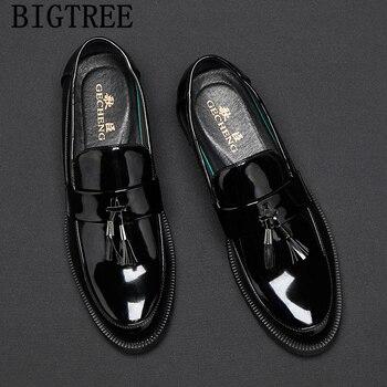 Mocasines con borlas para Hombre, Zapatos masculinos De Vestir, elegantes y clásicos,...