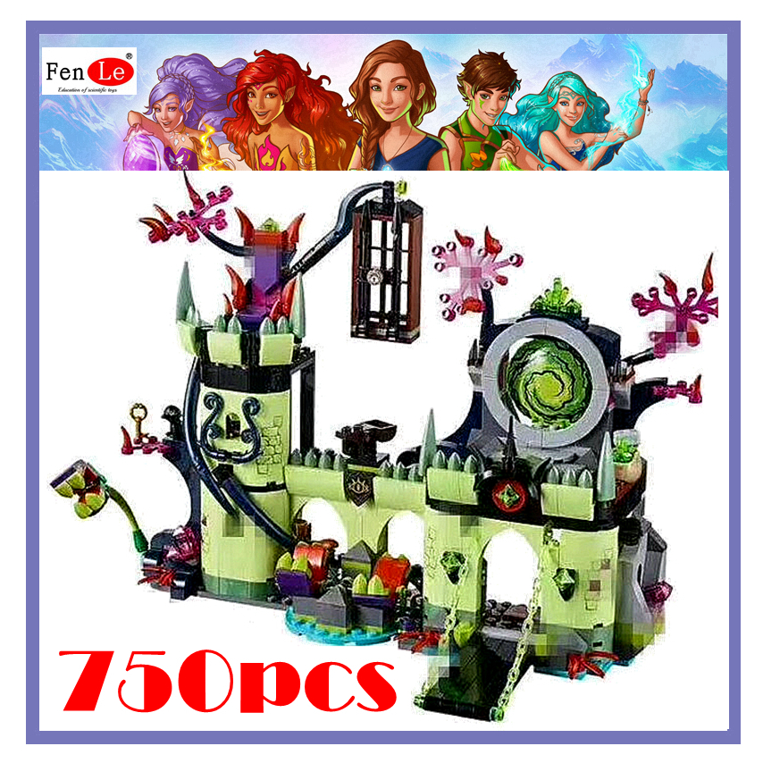 castle house 750pcs Friends Goblin Kings escape plan Building Kits Blocks Bricks Toys for girls Compatible elves image