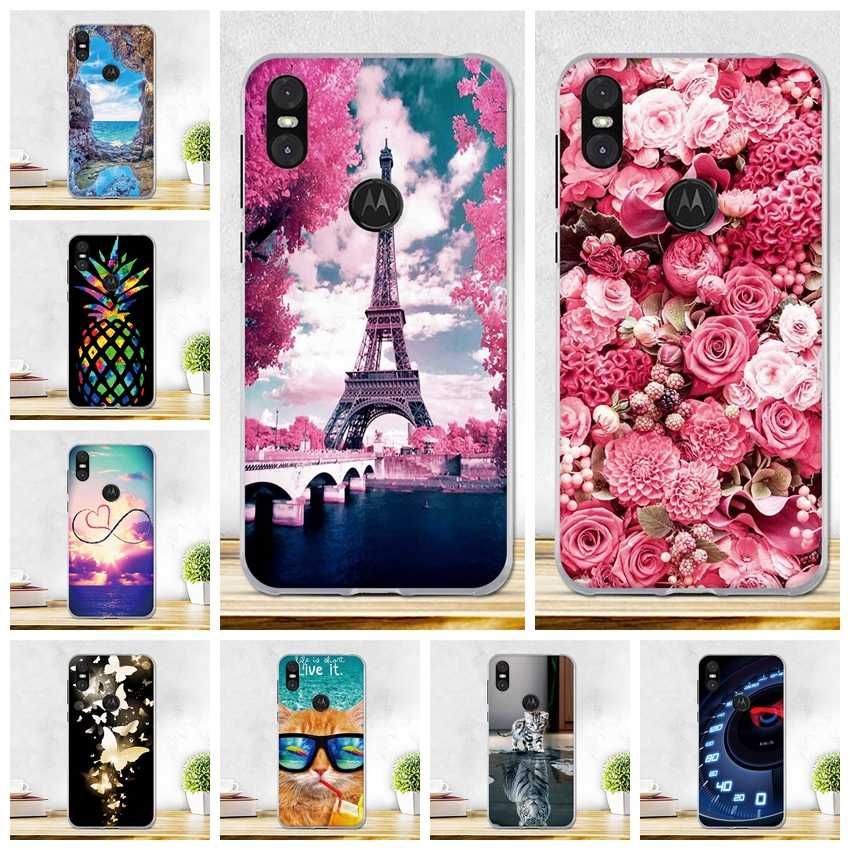Case For Motorola One Case Soft Silicone Back Cover For Motorola P30 Play Cover Thin TPU Shell Motorola One P30 Play Phone Cases