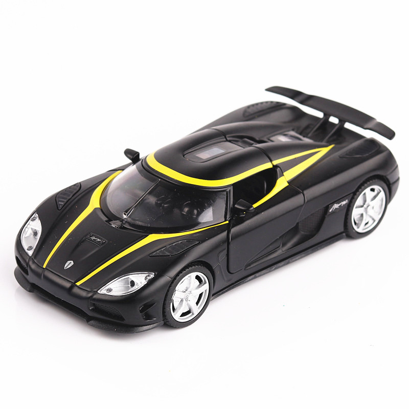 1:32 Koenigsegg Models Of Cars Metal Model Sound And Light Pull Back Miniature Back To The Future Electric Car Toys For Boys