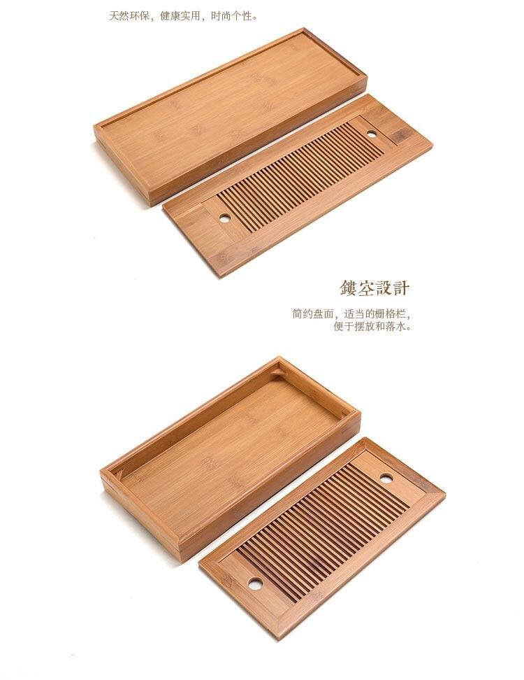 chá seco, esteira bambu, simples viagem chá setlb92409