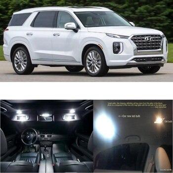 Led interior lights For Hyundai Palisade 2020 11pc Led Lights For Cars lighting kit automotive bulbs Canbus 1
